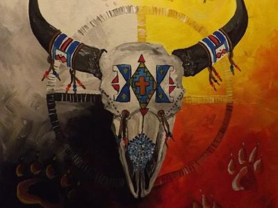 Posvátný kruh Medicine Wheel I